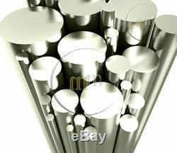 Aluminum Barre Ronde (fraisage / Soudage / Serrurerie) 1 (25,4 Mm) Diamètre