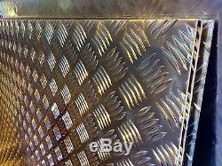 Bande De Contrôle En Aluminium À Damiers 5 Barres 2500 X 1250 X 2mm Toutes Les Dimensions De Coupe Disponibles
