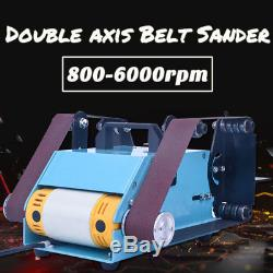Bandes De Ponçage De Bande À Double Axe De 950 W 220vchleifer Tellerschleifer Bandsch