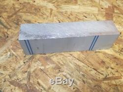 Bar En Aluminium 6082 T6, Le Fraisage, Le Soudage, Le Travail Des Métaux 188mmx50mmx40mm