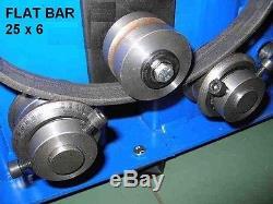 Barre Plate De Cintreuse. Profil Carré, Barre Ronde, Cintreuse, Rouleau D'anneau