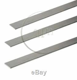 Barre Plate En Aluminium 1 X 1.5mm Fraisant, Soudant, Bandes En Aluminium De Travail Des Métaux