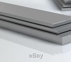 Barre Plate En Aluminium 3/4 X 1/8 Fraisage, Soudage, Bandes D'aluminium Pour Le Travail Des Métaux