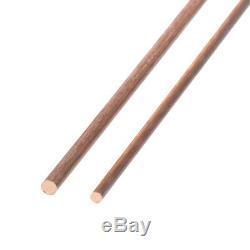Barre Ronde Cuivre Diamètre De La Tige De 3 MM De Fraisage De Soudure Travail Des Métaux Artisanat 50cm