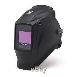 Casque De Soudage Dark Black Digital Elite À Assombrissement Automatique (257213)