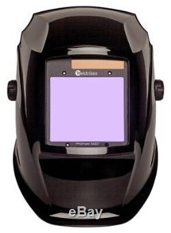 Casque De Soudeur Automatique Stealth Black Promens 500 Weldclass À 4 Capteurs
