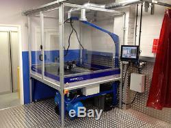 Cnc Plasma Cutter 4x4 Hypertherm Powermax 45 Xp Dthc Table D'eau