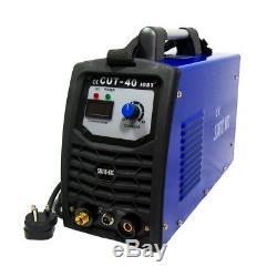 Coupe 40a Igbt Inverseur Air Plasma Cutter Metal Cutting Machine Arc 12mm Cut