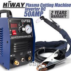 Coupe Au Plasma Cut50 Hf Démarre Le Cycle De Travail De 60% / Puissance De Coupe De Plasma Jusqu'à 14mm