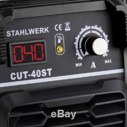 Coupe-plasma Stahlwerk Cut 40 St Inverter / Puissance De Coupe Jusqu'à 10 MM