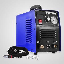 Coupeur De Plasma 50amp 60% Duty Torche De Coupage Au Plasma Et Consommables Coupe 14mm Cut-50