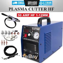 Coupeur De Plasma De Départ 50a Cut50 14mm Cut Hf Start, Tout Inclus, Avec Consommables