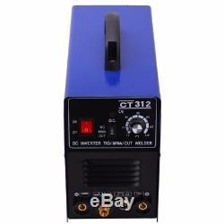 Ct312 3in1 Tig / Mma / Cut Machine De Soudage Au Plasma DC 230v Metalworking Diy