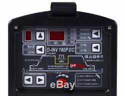 D-inv-160p Convertisseur D'impulsions Wig Tig Schweißgerät Digital DC Mma E-hand 5-160a 230v