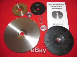 Disque De Rétraction Deluxe Kit Combo 9 Et 4.5 Disques Avec Les Deux Supports