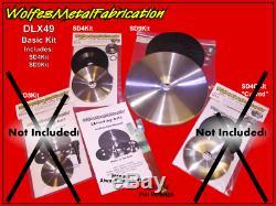 Dlx49wkit, Kit De Disque Rétractable Deluxe 4.5 & 9 Easy Shrink & Wrench, Rétrécisseur