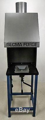 Forge À Charbon Becma Blacksmiths Avec E-fan Fr50 Neo