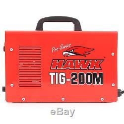 Hawk Tools 230v 200a 60hz Pro Soudeur De Soudure Tig Weldder De Garage De Garage