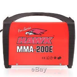 Hawk Tools 230v 200a Bâton Mma Arc Portable DC Inverter Soudeuse Soudeuse Machine
