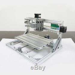 Imprimante De Machine De Gravure En Bois De Fraisage De Routeur De Mini Commande Numérique Par Ordinateur De Contrôle De 3 Axes 3018 Grbl