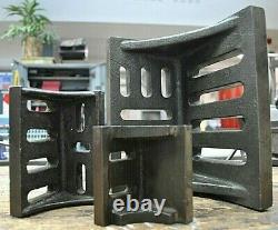 Ingénierie Blocs D'angle X 3. Soudage / Atelier / Métallurgie / Fraisage / Forage
