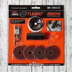 Kit Mini Turbo Arbortech Schnitzfräser Scheibenfräser Für Winkelschleifer