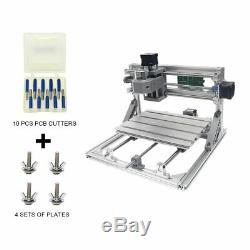 Kits De Routage Cnc Bricolage 2418 Grbl Steuerung Holzschnitzerei Fräsmaschinen