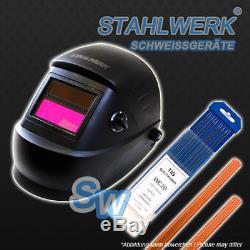 Komplettset Stahlwerk Mig Mag 200 Wig & Mma / E-hand Inverter Schweißgerät