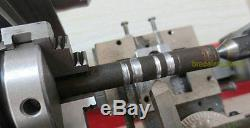 Laboratoire À La Maison De Tour De Laboratoire D'instrument De Tour De Diy Diy 4 Mâchoire 65mm De Mandrin