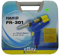 Le Nouveau Pistolet À Dessouder Hakko Fr301-03 / P Fr-301 Remplace Le Fr-300 Fr300-05 / P
