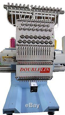 Machine À Broder Commerciale, Compact, Neuf, Tête Simple, 15 Aiguilles, New Style