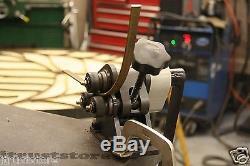 Machine À Rouler Ronde Ancienne De Roue De Stock De Cintreuse De Tube D'anneau De Tube En Métal