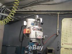 Machine De Fraisage Bridgeport Power Drawbar Tool Changeur De Temps Temps Travail Nouveau