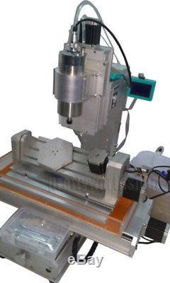 Machine De Gravure De Type De Colonne De Table De La Commande Numérique Par Ordinateur 3040 De L'axe 5, Vis À Billes De Haute Pricision