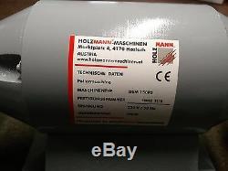 Machine De Polissage / Polissage / Polissage De Banc À Double Extrémité 230v Holzmann Dsm 150 Ch