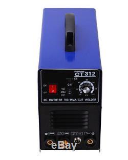 Machine De Soudure Ct312 3in1 Digital Tig / Mma / Plasma Cutter Soudeur Et Accessoires