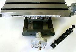 Machine Transversale De Foret D'étape De Table De Positionnement De Glissière Croisée Du Composé X / Y De Profil Bas