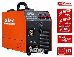 Mig Mag Schweißgerät Mig-250 Pro Convertisseur Mma Igbt Onduleur 230v 250a Schutzgas