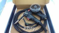 Mig Pistolet À Bobine 4 Mètres 180 Ampères - Connexion Euro Style Aluminium Unimig