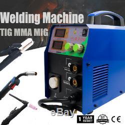 Mig200 3 En 1 Tig / Mig / Mma Soudeuse Machine De Soudage Travail Du Métal De Bricolage 230v & Kits