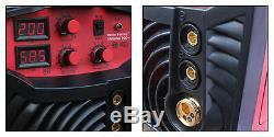 Onduleur Halbautomatische Schweißgerät Twin Mig 200a Ig 230v Mig Mag 4 En 1