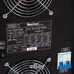 Onduleur Professionnel Sherman Tig 210 De Machine De Soudure De Soudeur De Tig Ac / DC 200a