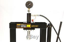 Outil Pour Banc De Presse D'atelier De 10 Tonnes Avec Pompe Hydraulique, Équipement Hydraulique À Cadre En H 14