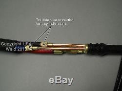 Paquet De Torches Tig Refroidi À L'eau Wp-20 De 25 Po Miller Dynasty 200 Syncrowave 250dx