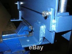 Plieuse Plieuse En Métal, Cintreuse 400mm (15.8) / 3mm Acier Livraison Rapide