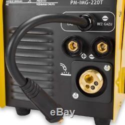 Pm-img-220t Soudeuse Inversée Mig Mag Fcaw Arc 220a Mig / Mag / Tig / Mma