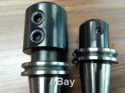 Porte-broyeurs Cat40, Liquide De Refroidissement À Travers, 5 Pcs De Toutes Tailles-nouveau Porte-outils