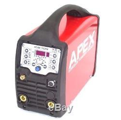 Poste À Souder Ca 13740 Welder Tig Ac / DC 200 Pulse Hf Inverter Arc Stick