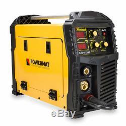 Powermat Pm-img-230t Convertisseur De Fréquence Mig Mag Fcaw Arc-schweißer 230a