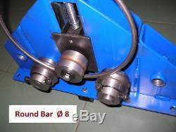 Roller Bender / Ring Roller Barre À Profil Plat Tube Tube Tube Bender Box Section